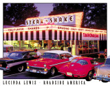 Lewis - Steak n Shake Plaque en métal