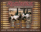 Remington Bullet Board Plaque en métal