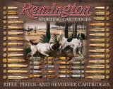 Remington Bullet Board Blikkskilt