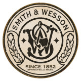 Smith & Wesson - Round Emaille bord