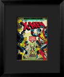 Marvel Comics Retro: The X-Men Comic Book Cover 100, Professor X Framed Giclee Print