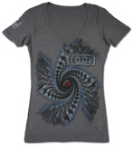 Juniors: Tool - Spiral T-Shirt