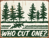 Schonberg - Cut One Blikskilt