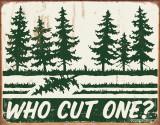 Schonberg - Cut One? Plechová cedule