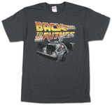 Back to the Future - BTF Car T-skjorte