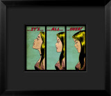 Marvel Comics Retro: Love Comic Panel, Crying, It's All Over! Framed Giclee Print