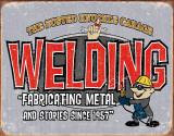 BKG - Welding Plechová cedule