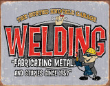 BKG - Welding Tin Sign