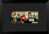 Marvel Comics Retro: X-Men Comic Panel Framed Giclee Print