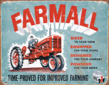 Farmall - Model A Cartel de chapa
