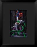 Spider-Man and Lizard Framed Giclee Print