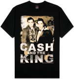 Johnny Cash - Cash & King T-シャツ