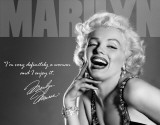 Marilyn - Definitely Plaque en m&#233;tal