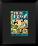 Marvel Comics Retro: My Love Comic Book Cover 16, Tennis, Pathos and Passion Framed Giclee Print