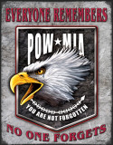 Legends - POW Eagle Tin Sign