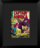 Marvel Comics Retro: Captain America Comic Book Cover 108, the Trapster Framed Giclee Print