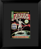 Marvel Comics Retro: Silver Surfer Comic Book Cover 1, Origin Framed Giclee Print