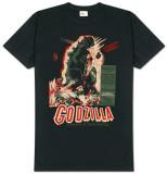 Godzilla - Vintage Poster T-shirts