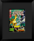Marvel Comics Retro: Silver Surfer Comic Book Cover 12, Fighting the Abomination Framed Giclee Print