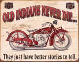Indian - Better Stories Blechschild