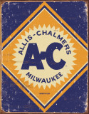 Allis Chalmers Logo Plakietka emaliowana