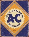 Allis Chalmers Logo - Metal Tabela