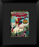 Marvel Comics Retro: The Amazing Spider-Man Comic Book Cover #153, The Deadliest Hundred Yards Impressão giclée emoldurada
