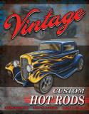 Legends - Vintage Hot Rods Plaque en métal