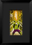 Marvel Comics Retro: The Incredible Hulk Comic Panel Framed Giclee Print
