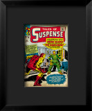Marvel Comics Retro: The Invincible Iron Man Comic Book Cover 51, Suspense - Facing the Scarecrow Framed Giclee Print