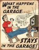Schonberg - Happens in Garage Plaque en métal