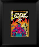 Marvel Comics Retro: Silver Surfer Comic Book Cover 6, Worlds Without End! Framed Giclee Print
