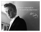 Elvis - Important Blechschild