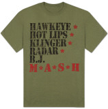 M.A.S.H. - Nicknames T-Shirts