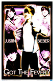 Justin Bieber - Black Light Poster Poster