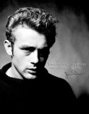 James Dean - Live Forever Plaque en métal