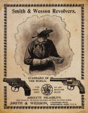 S&amp;W - Standard of the World Tin Sign