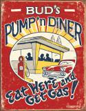 Schonberg - Pump 'n Diner Plechová cedule