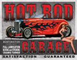 Legends - Hot Rod Garage Blikskilt