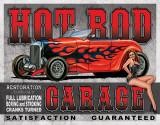 Legends - Hot Rod Garage Plakietka emaliowana