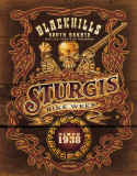 Sturgis - No Tomorrow Cartel de chapa