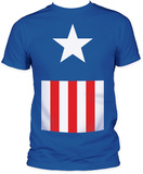 Captian America - Suit (Slim Fit) T-shirts