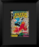 Marvel Comics Retro: Silver Surfer Comic Book Cover 8, the Ghost Framed Giclee Print
