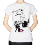 Juniors: Lady Gaga - Beautiful Dirty Rich T-shirts