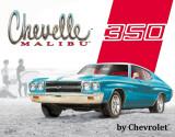 Chevelle Malibu - 350 Plaque en métal