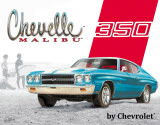 Chevelle Malibu - 350 Blikskilt
