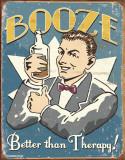 Schonberg - Booze Therapy Plechová cedule