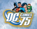 DC Comics 75th Anniversary Tin Sign