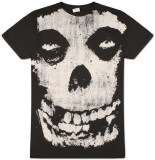 The Misfits -  All Over Skull Tričko