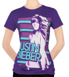 Juniors: Justin Bieber -Favorite Color T-Shirts